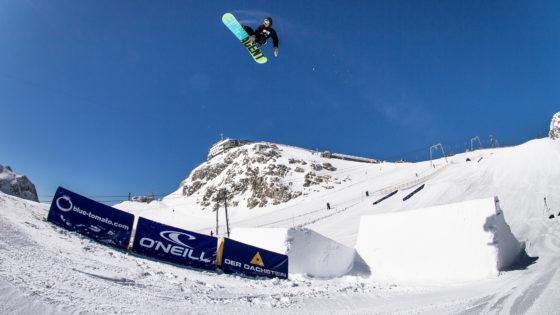 Snowboarden auch im Sommer