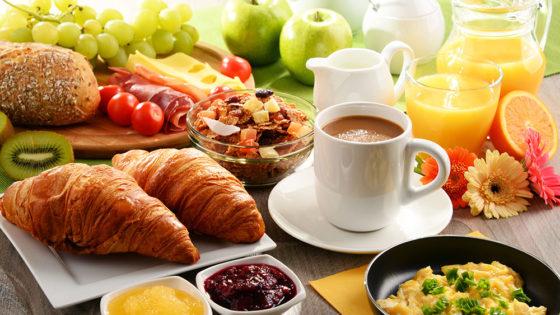 Der Burgfellnerhof - Frühstück