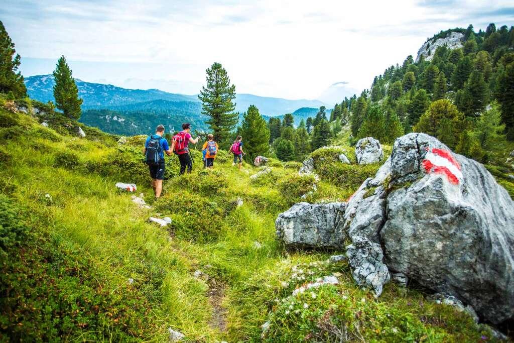 Entspanntes Wandern in der Herrlichen Natur