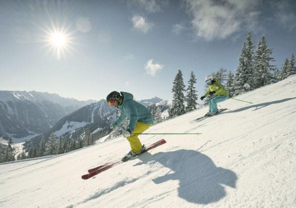 Der Burgfellnerhof - Hochwurzen-Skiabfahrt für Anfänger und Profis