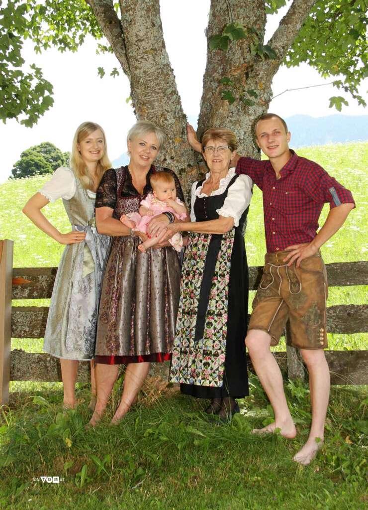 Bild der Familie des Burgfellnerhofs Schladming